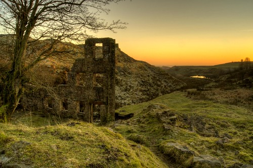 Sunset at Cheesen Lumb Mill | by Chris _E78