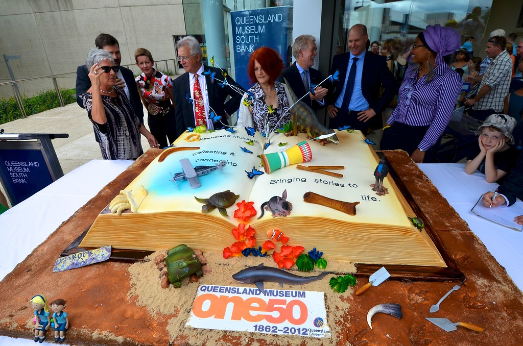 The Biggest Birthday Cake Ever Tourism Queensland Flickr