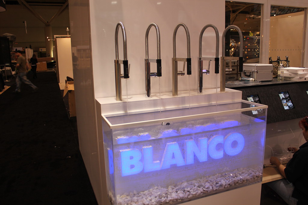 BLANCO Canada booth - CULINA faucet display | rethinkthesink | Flickr