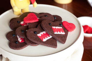 Domo-Kun Heart Cookies | by alanabread