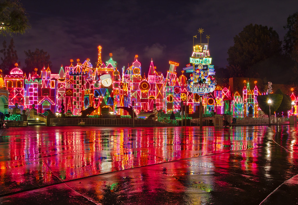 bricker disneyland its a small world holiday