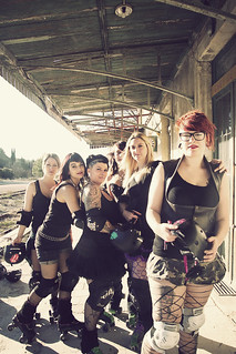 Roller Derby Girls : vol1 (next) | by Jonathan Aubry