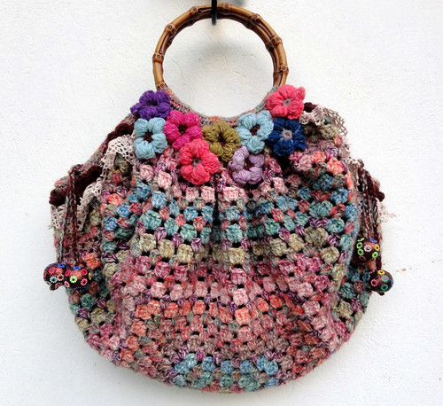 Mix and Match Crochet Bag | by eclectic gipsyland