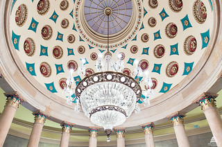 Small Senate Rotunda Chandelier | by USCapitol