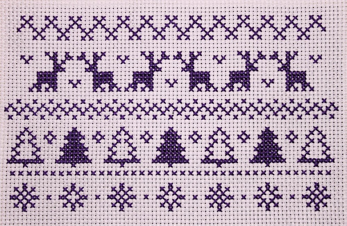 Christmas Pattern Cross Stitch 2 | by josiemakes