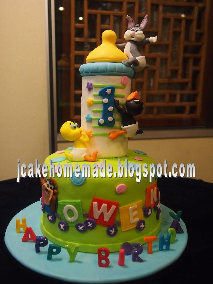 ... Baby Looney Tunes Cake | By Jcakehomemade