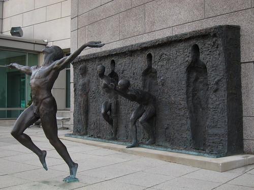 """Freedom 2001"" by  Zenos Frudakis 