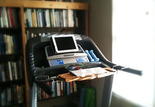 Treadmill iPad Desk | by esquetee