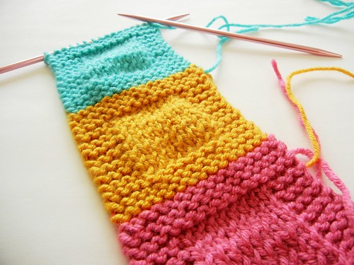 Knitting | Using DPNs on things that don't need DPNs. Also ...