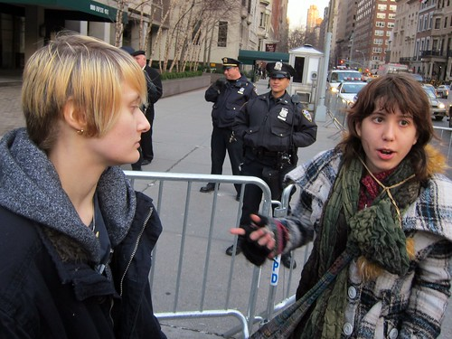 Occupy Wall Street: J6, Occupy Bloomberg's Block to Protest Press Arrests | by Scoboco