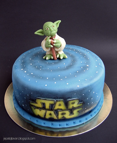 Yoda Birthday Cake Pan
