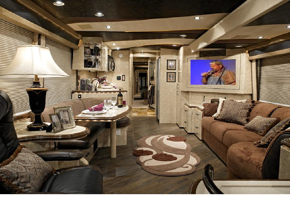 ... Comedian Kevin Tour Bus Interior | By Comedian Kevin Nicks