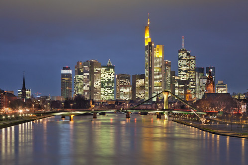 Frankfurt Skyline | by Philipp Klinger Photography
