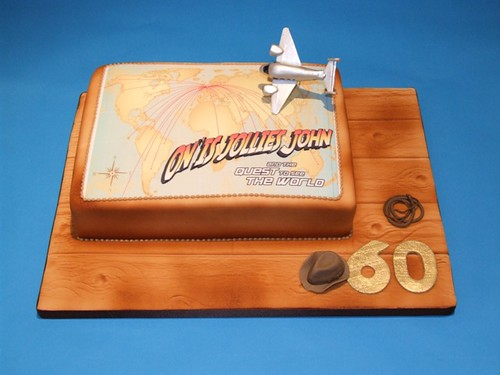 Indiana Jones 60th Cake | by Alixs Cakes