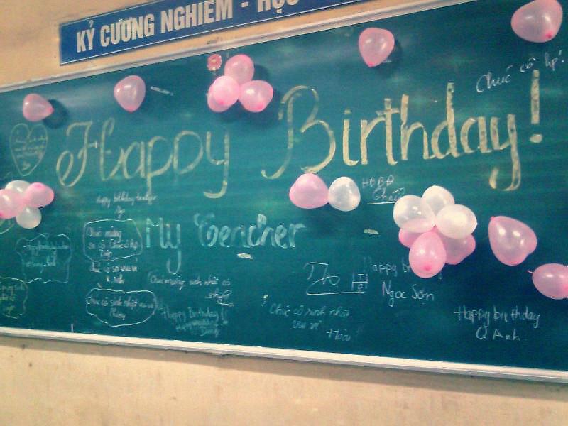 teacher birthday Happy Birthday to Teacher | Mina Doll Stupid | Flickr teacher birthday