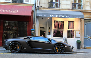 As a Batmobile ... : Lamborghini Aventador LP 700-4. | by Kevin Van Campenhout
