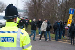 The EDL Marching in Leicester City Center | by Ollie Millington Photography [] com