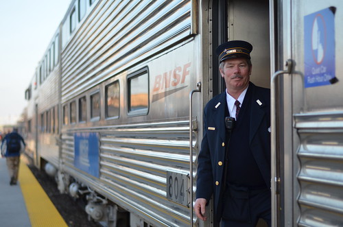 BNSF Train Conductor | by Michael Kappel