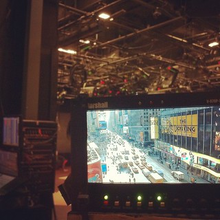 #timessquare #tv #camera #nyc | by City Street Productions