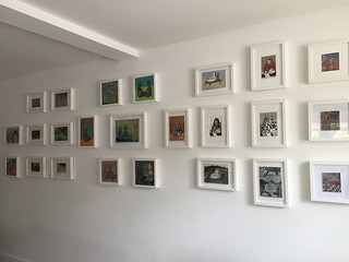 One wall hung, now for the rest....http://www.dorsetartweeks.co.uk/ | by maureen nathan