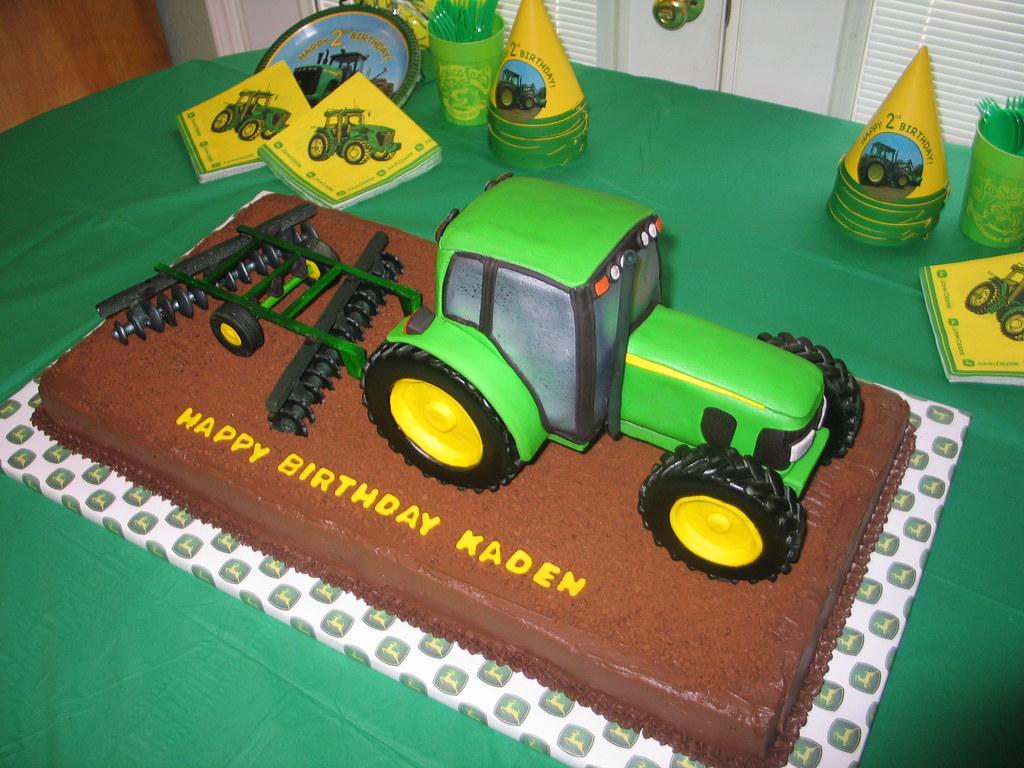 Tractor Cake John Deere 7330 3D John Deere Tractor Cake Flickr