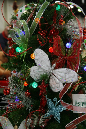 butterfly christmas tree butterfly christmas tree decorated by children s 1389