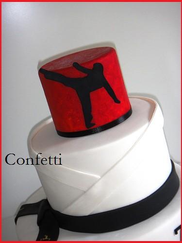 Karate Kid Cake Based on the birthday invitation Marina Flickr