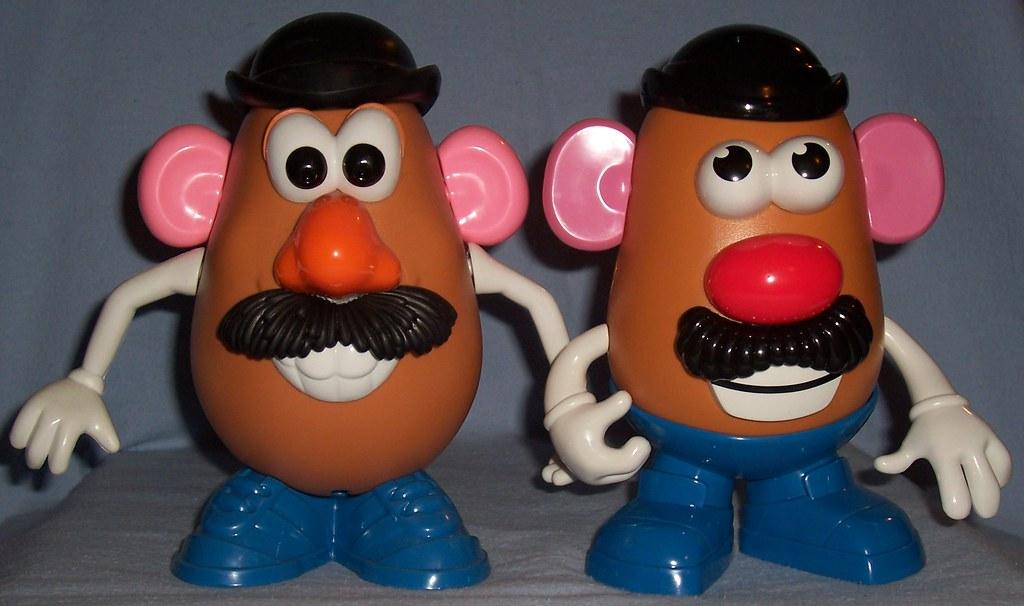 Toy Story Vs 2011 Mr Potato Head Left The Toy Story 3 Mr Flickr