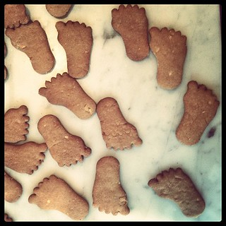 Gingerbread feet #iphonography #holiday #baking | by sassyradish