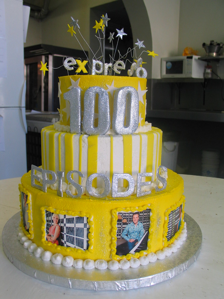 Miraculous Expressos 100Th Episode 3 Tier Birthday Cake Decorated Wi Flickr Funny Birthday Cards Online Elaedamsfinfo