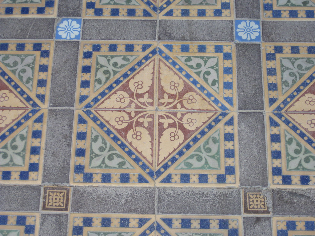 Victorian tessellated tiles rupertswood mansion sunbury flickr victorian tessellated tiles rupertswood mansion sunbury by raaen99 dailygadgetfo Images