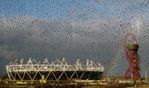 Rainbow over the Olympic Park, January 5th 2012 | by Emily S Bishop