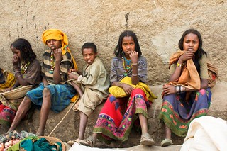 Girls selling wood in Harar .Ethiopia | by courregesg