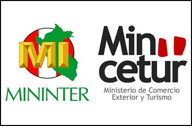 Mininter y mincetur trabajan para nuevo sistema de control for Sueldos del ministerio del interior