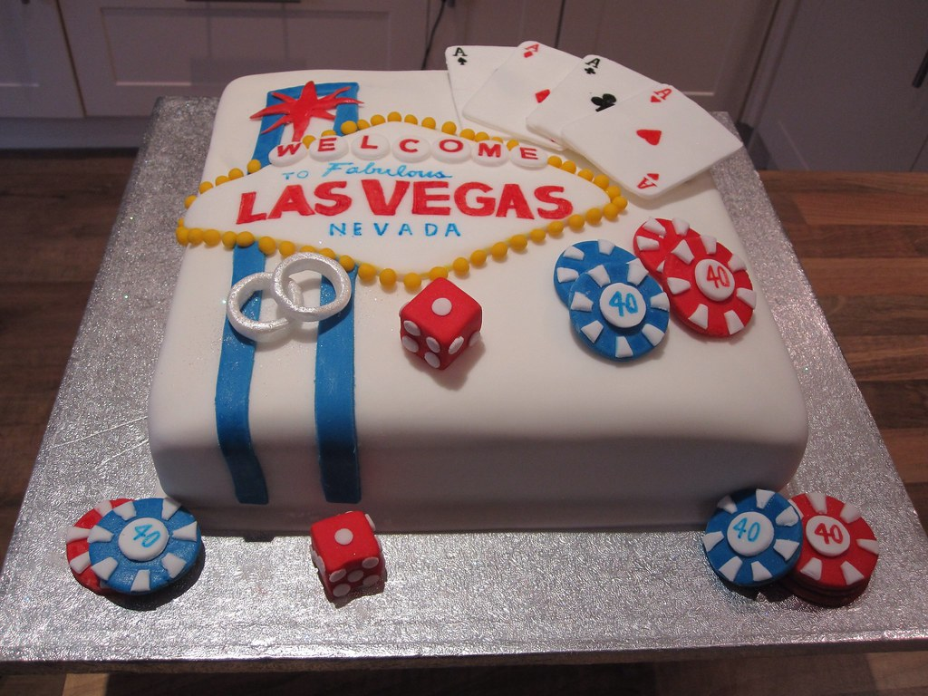 By Maggieannawatson Las Vegas 40th Birthday And Wedding Cake! | By  Maggieannawatson