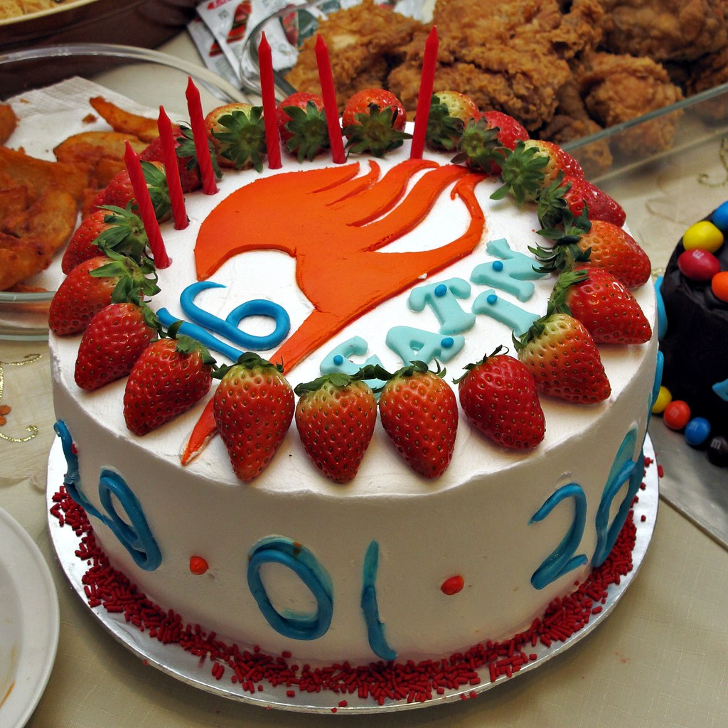 Fatins Birthday Cake Animes Fairy Tail Image Canon Pow Flickr