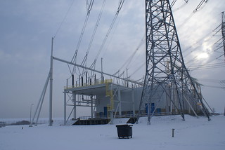 Looking toward a 220/380kV Substation | by Edje and Ness