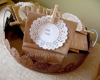 Take Home Treat Bags | by Ode to Inspiration