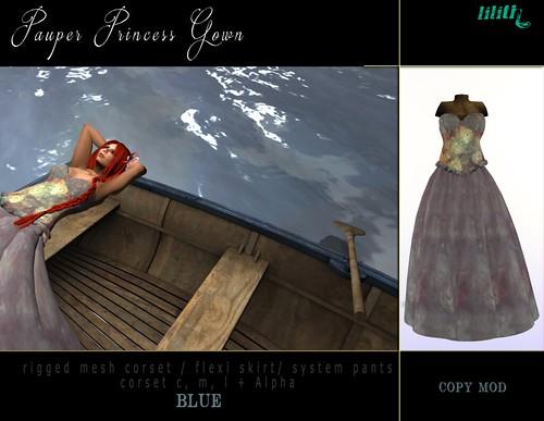 LD Pauper Princess Gown BL