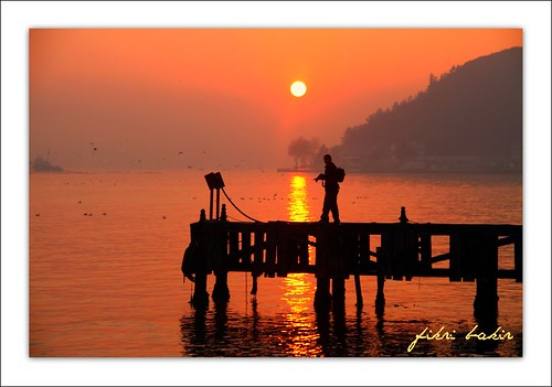 silhouettes at sunrise in the Bosphorus. (On Explore : 05 / 12 / 2011 ) | by nature photographer.