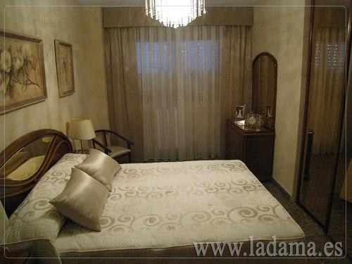 Decoraci n para dormitorios cl sicos cortinas con dobles - Decoracion dormitorios clasicos matrimonio ...