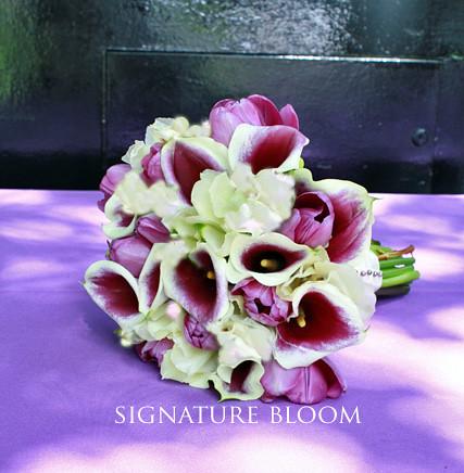 Los Altos Wedding Flowers, Purple & Cream Calla Lily Bouqu… | Flickr
