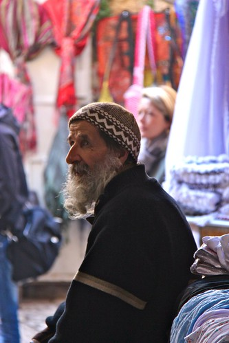 Old Man in the Old City in Jerusalem | by Eric Demarcq