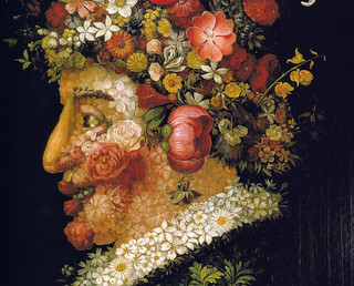 Giuseppe Arcimboldo - Spring, 1573 at Academia di S. Fernando, Madrid Spain | by mbell1975