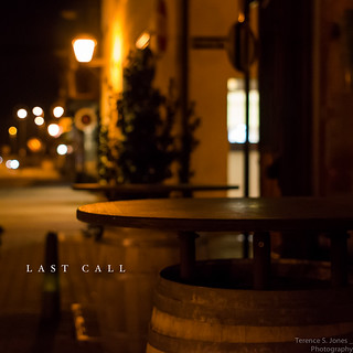Last call | by Terence S. Jones