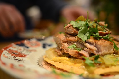 January 23rd Grilled Tuna and Leek Tostada | by The Hungry Cyclist