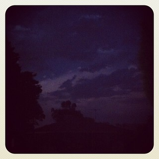 14 degree temp drop. high winds and lightning. might get a good storm tonight! | by Not Charming