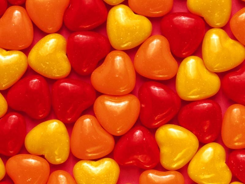 Free Hearts Candy Wallpaper Free Valentine S Day Wallpap Flickr