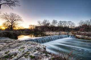 182/365: Sundown at Brushy Creek | by OscarAmos