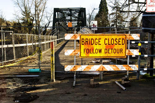 Bridge Closed | by Curtis Gregory Perry